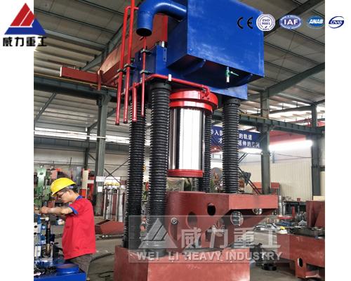 630吨erliang四柱油压机 铁屑压kuai油压机