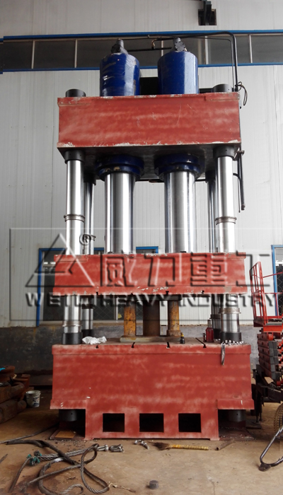 1200吨三liang四柱油压机 YW32-1200T四柱油压机