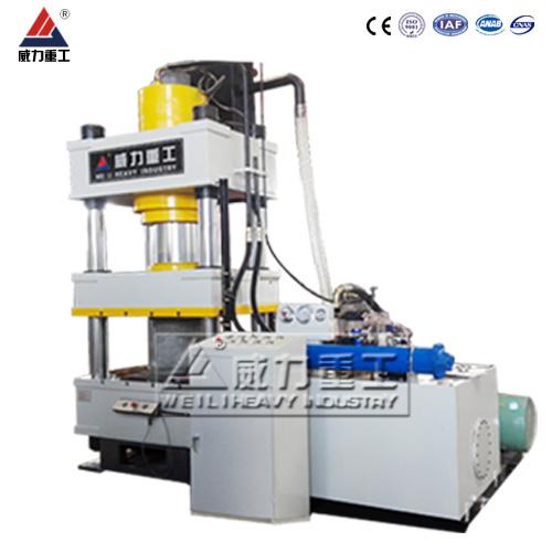 500吨kuai速粉mo成型油压机