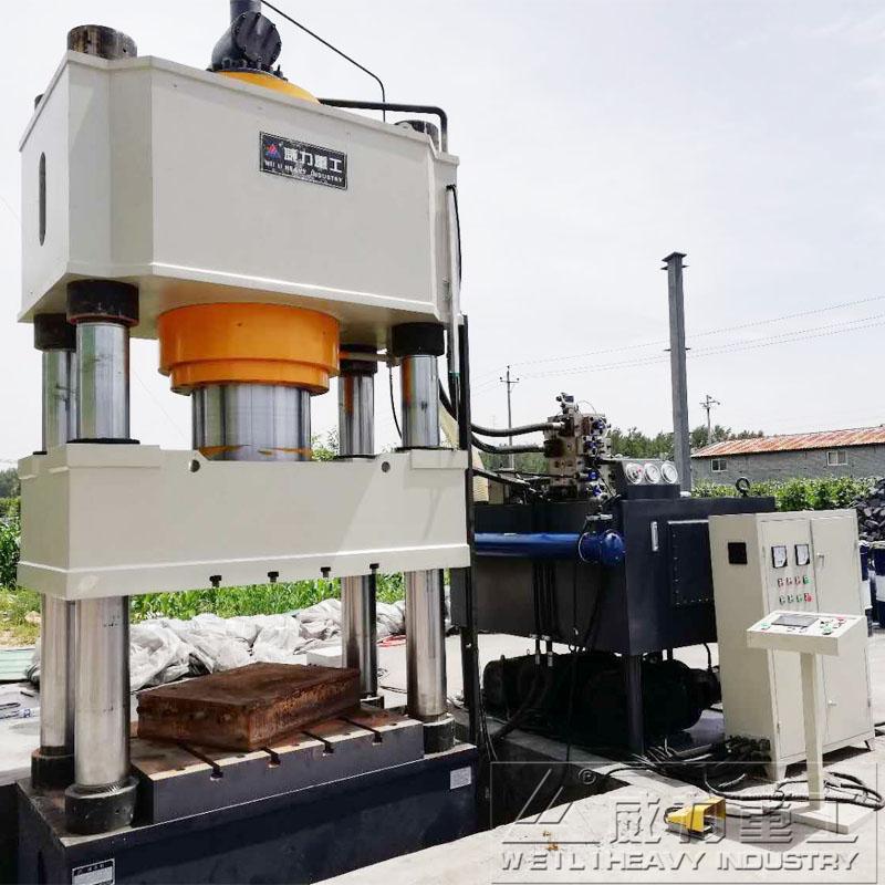 500dun三梁四柱油压机 YW32-500T四柱油压机